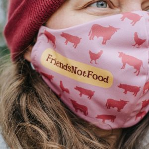 mund-nasen-maske-vegan-friends-not-food-altrosa